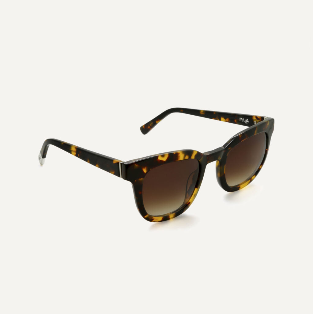 Pala Eyewear Unisex Biodegradable Pendo Sunglasses Maple Tortoiseshell