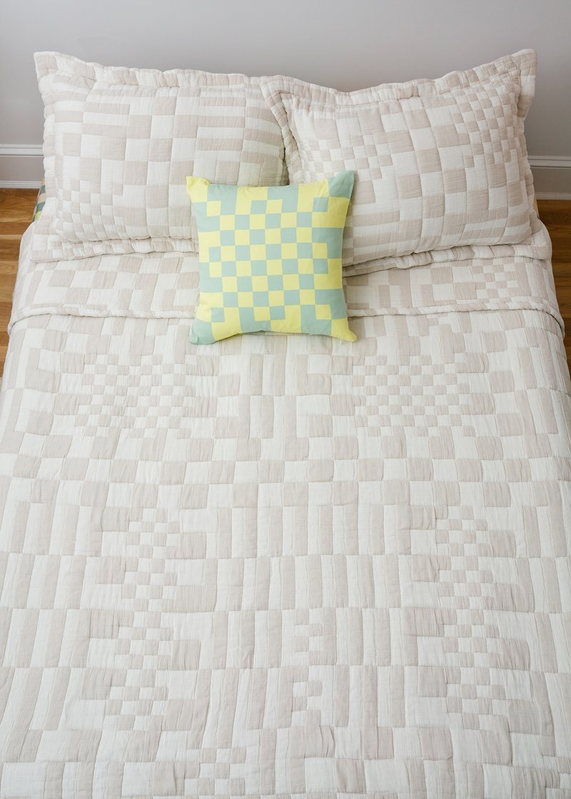 Dusen Dusen Check Coverlet Set Queen King