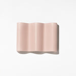 Fazeek Wave Soap Dish Dusty Pink