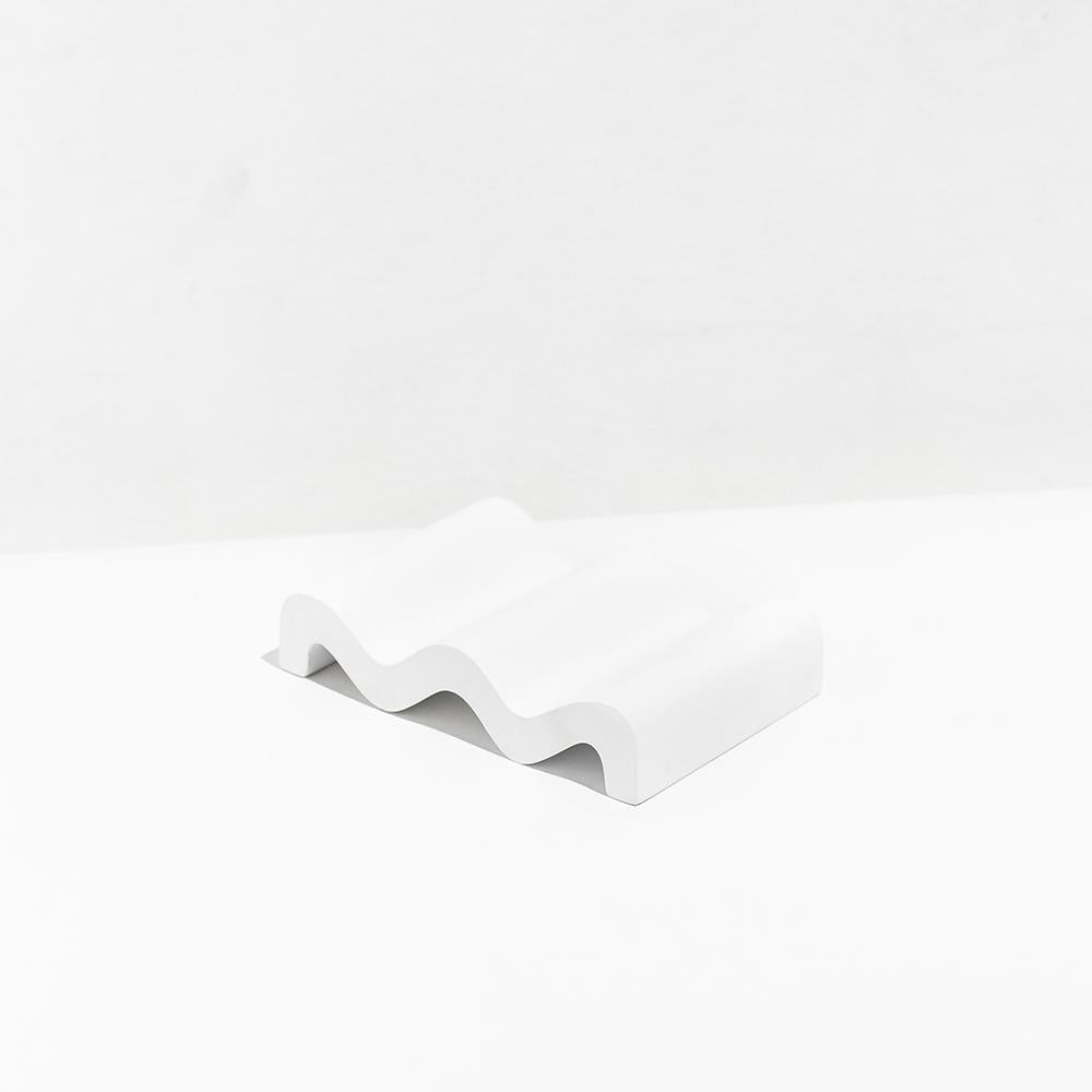 Fazeek Wave Soap Dish White