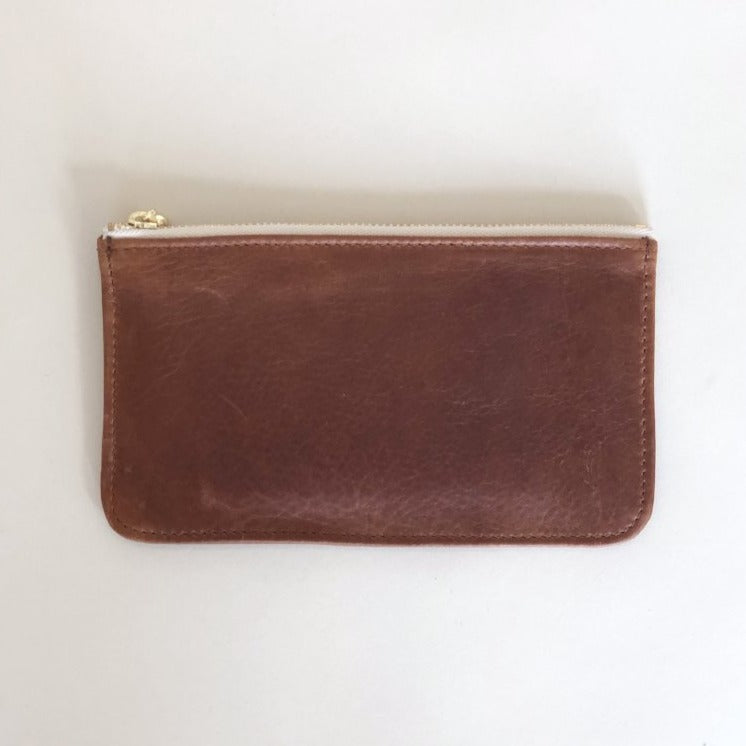 Time for a Change Wallet Caramel