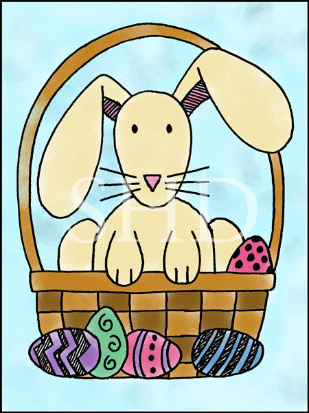 Easter Basket Bunny