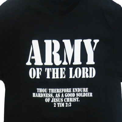 Army of the Lord Christian  Jesus Christ Men and Women couples Matching T-Shirt