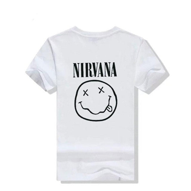 Punk Rock NIRVANA Cotton tumblr tshirt