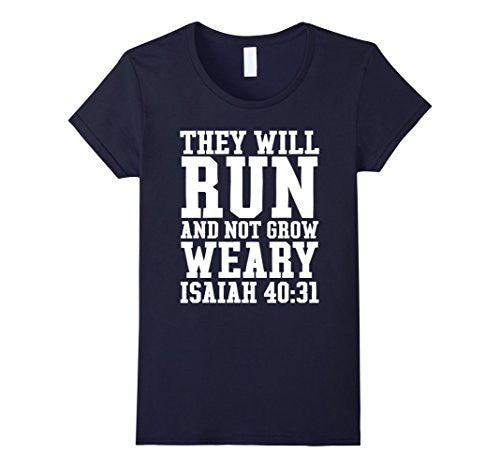 Isaiah 40:31 Runer Bible Christian Gymer  men women 100% cotton cool tshirt