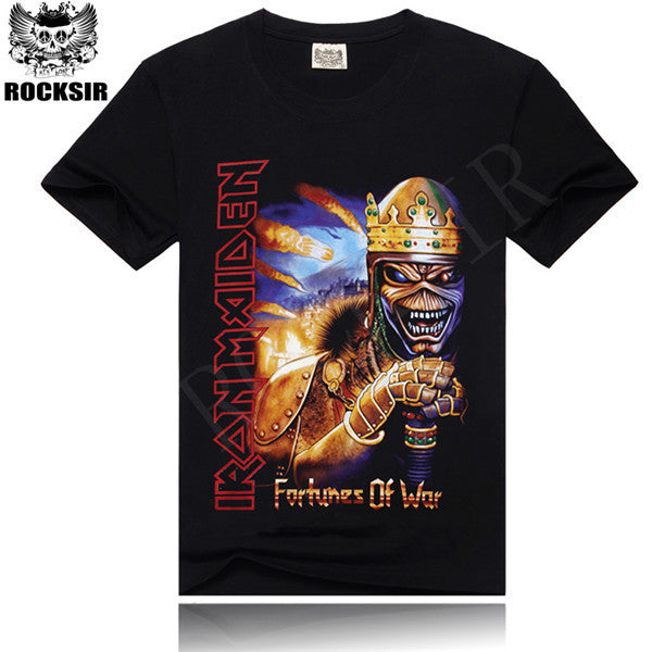 O-neck Rock Tshirt T-shirt heavy metal S-XXXL