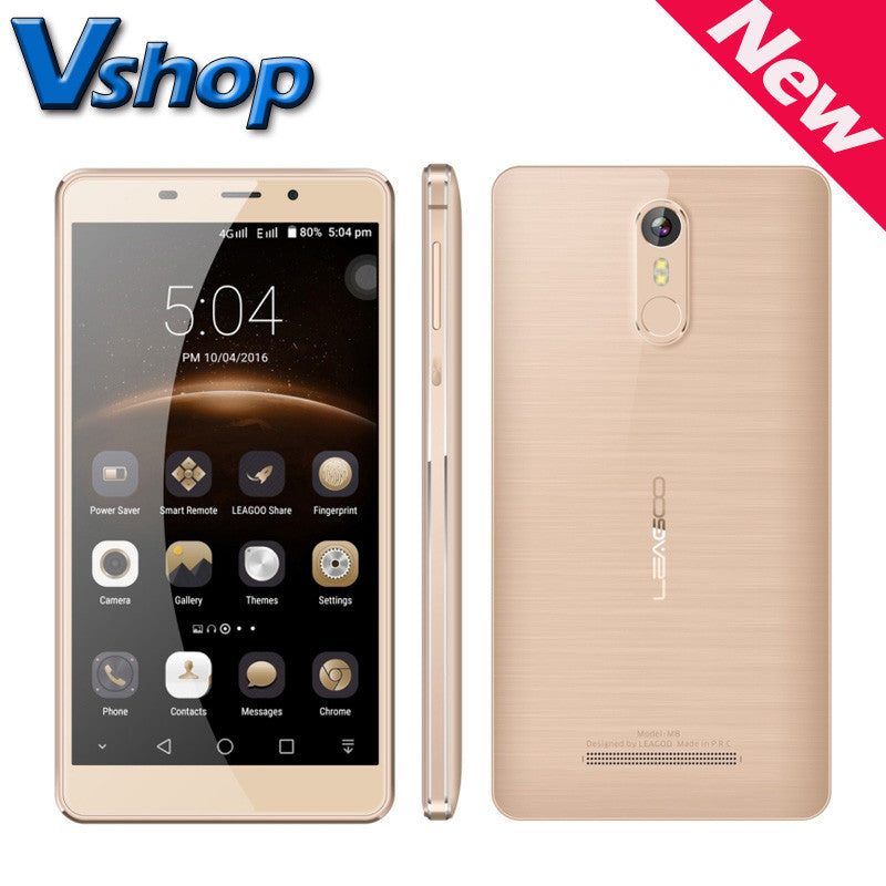 Original LEAGOO M8 3G Mobile Phones Android 6.0 Quad Core