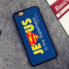 Jesus is my Superhero Christian Soft Rubber Mobile Phone Cases OEM For iPhone