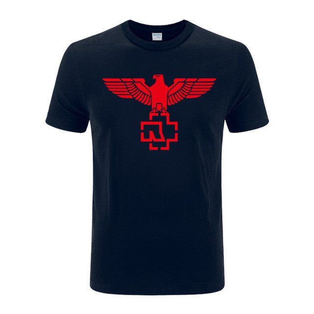 Rammstein rock heavy metal mens T shirts
