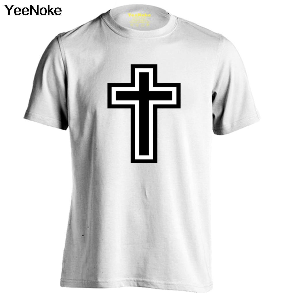 Christian Cross Icon Mens & Womens Personalized T Shirt Custom Tee