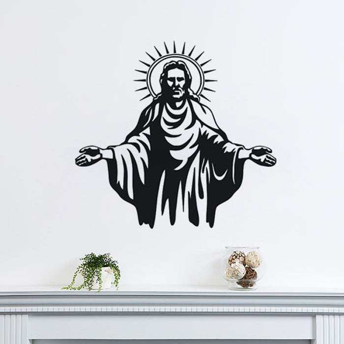 Vinyl Wall Sticker Jesus Christ Art