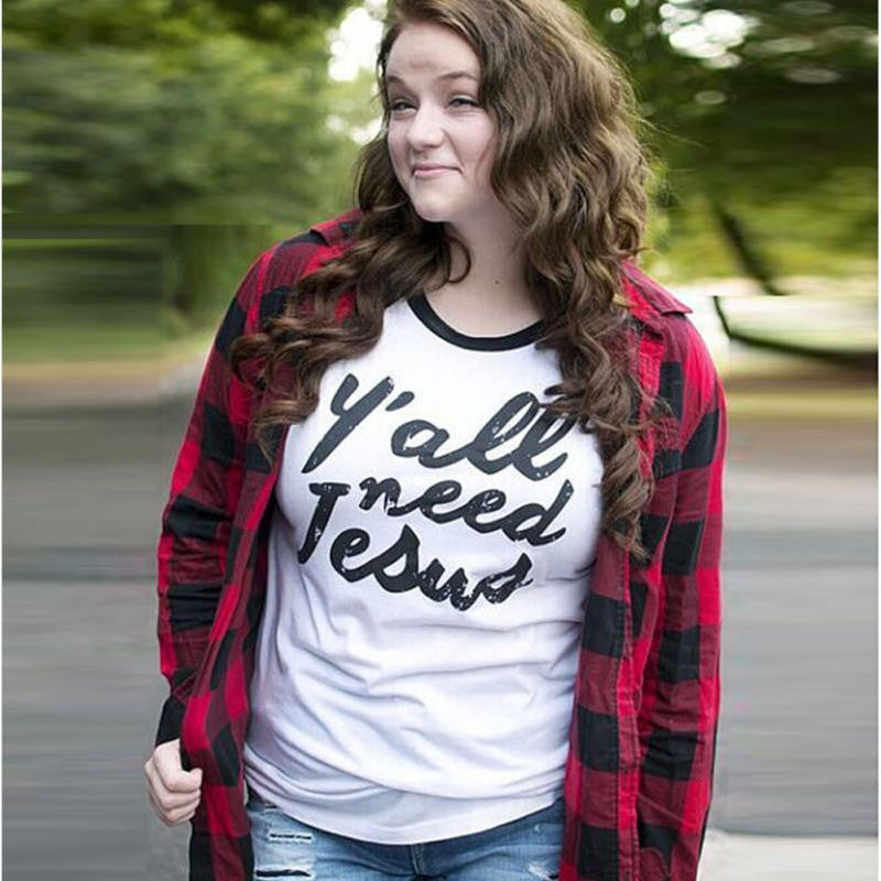 Y\'all need Jesus t shirt