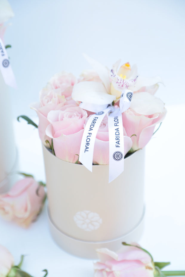 Easter Classic Roses Pink - Petite