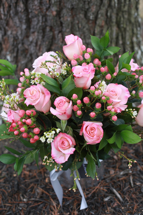 A Dozen Pink Roses - ON SALE