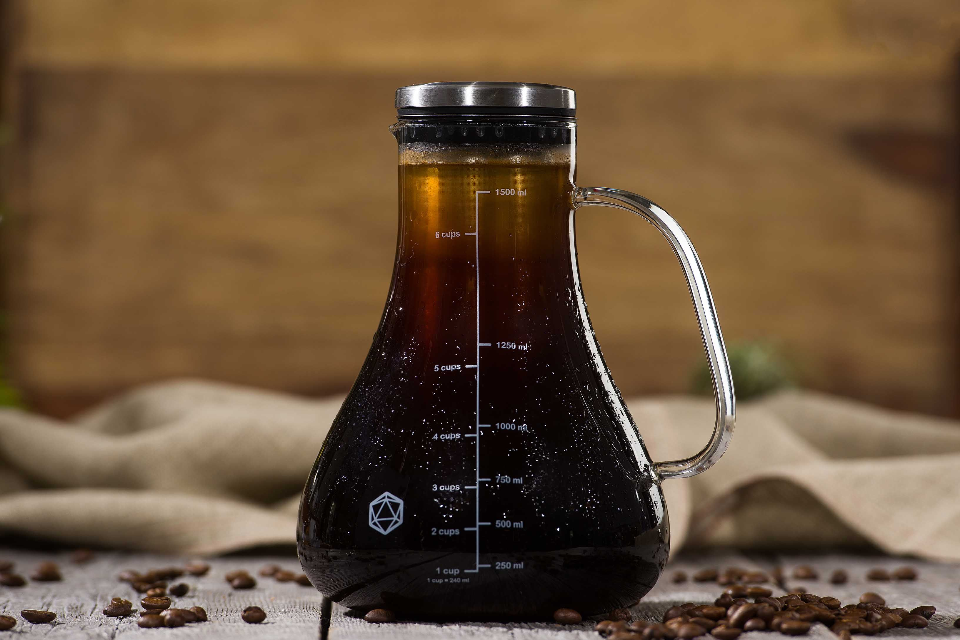 Arctic Cold Brew Coffee System (free scoop + recipe book bundle)