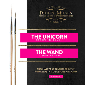 Set of Robin Moses Nail Art Brushes