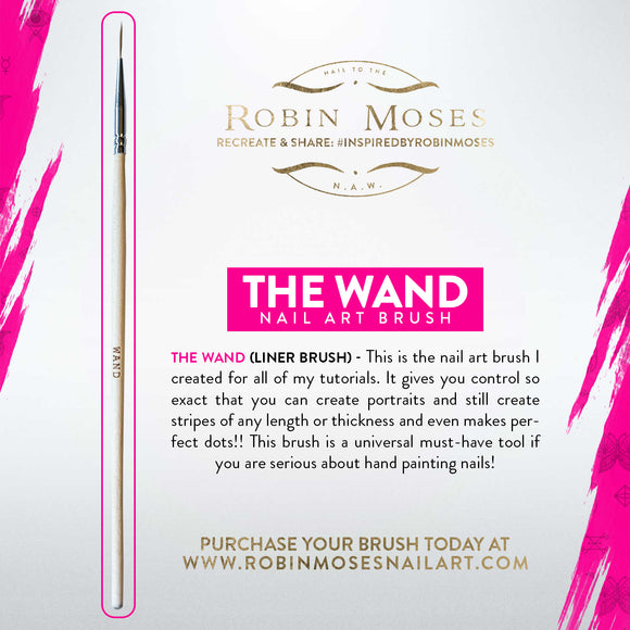 Robin Moses Nail Art Brush for lining