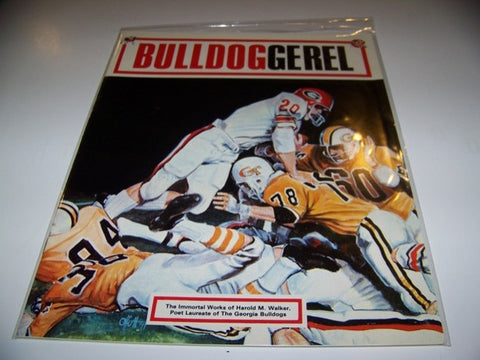 1967 Georgia Bulldogs Football BULLDOGGEREL