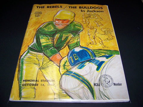 1967 Georgia Bulldogs vs. ole miss program