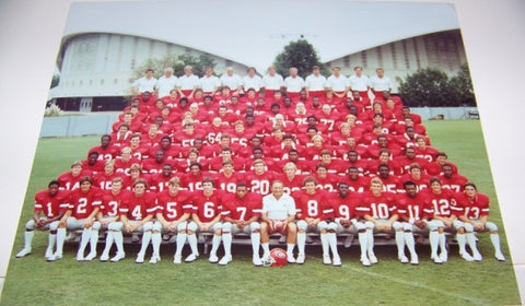 1980 Team Photo 8x10 Color with matte
