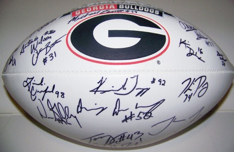 2006 Recruits Autographed Football