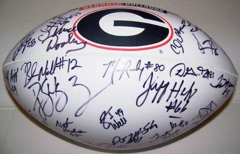 2007 Vince Dooley, Past, & Current Player's Autographed Football