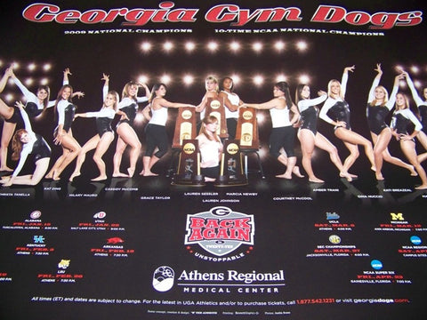 2009 Gym Dawgs Poster