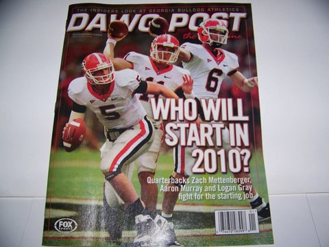 2010 Dawgpost Aaron Murray 1st cover