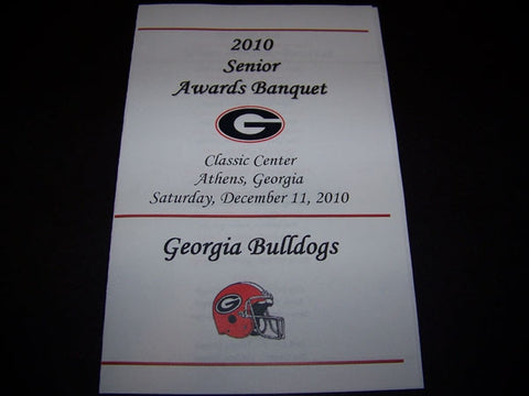 2010 Senior Gala Banquet Awards Program