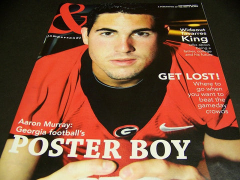 2011 Georgia Bulldog Aaron Murray '&' magazine