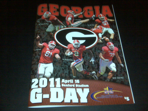 2011 G-Day Game Program