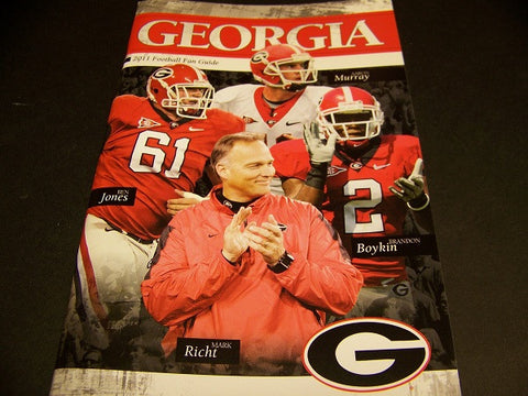2011 Georgia Bulldog Football Fan Guide