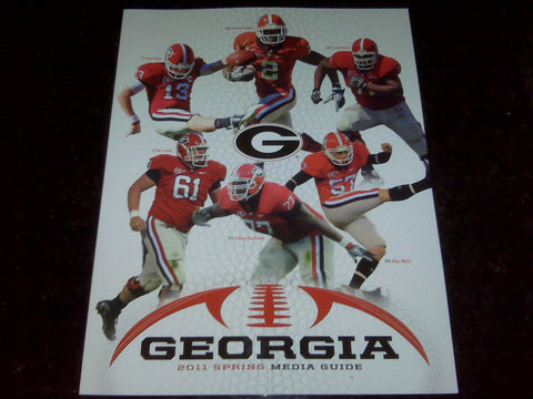 2011 Georgia Bulldogs Spring Media Guide