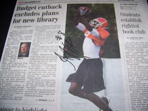 AJ Green Autographed First Cover