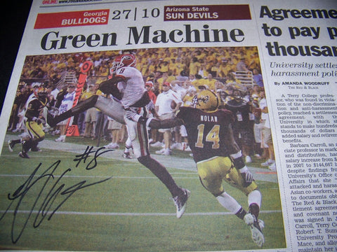 AJ Green Autographed 'Green Machine'
