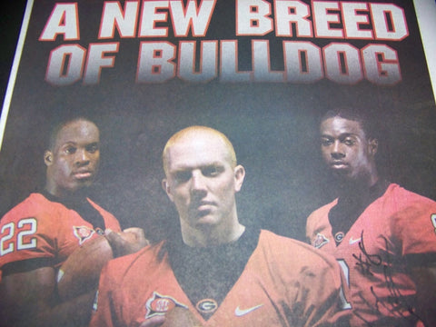 AJ Green Autographed 'A New Breed of Bulldog'