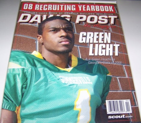 2008 AJ Green - Dawg Post Magazine