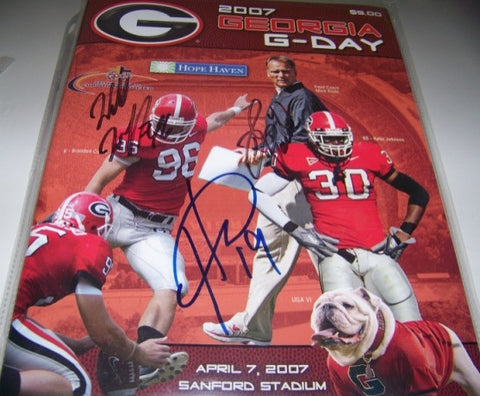 2007 Hines Ward, David Pollack, Will Witherspoon Autographed - G Day