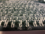 1983-84 Cotton Bowl Champions Team Roster w/ Player Names 8x10 photo with matte