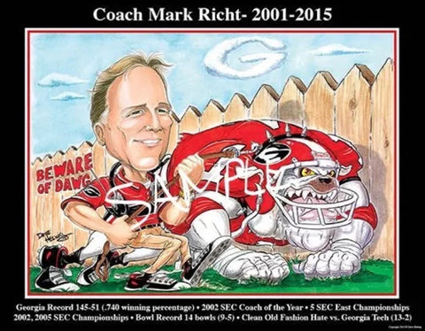 2015 Dave Helwig 'Coach Mark Richt Tribute'