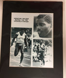 1980 Herschel Walker Track 8x10 photo with matte