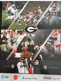 2018 SEC & Rose Bowl Championship Football Schedule Poster