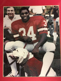 1980 Herschel Walker & Uga Dawg 8x10 photo with matte