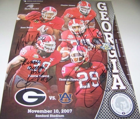 2007 Multiple Player Autographed - Black Out Program