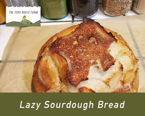 How to make sourdough bread with only 4 ingredients | the easy sourdough recipe for beginners