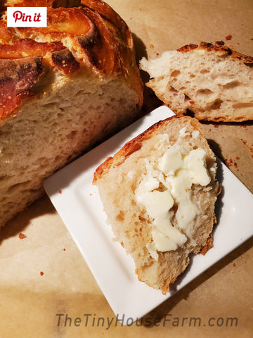 easy sourdough recipe, beginner bread