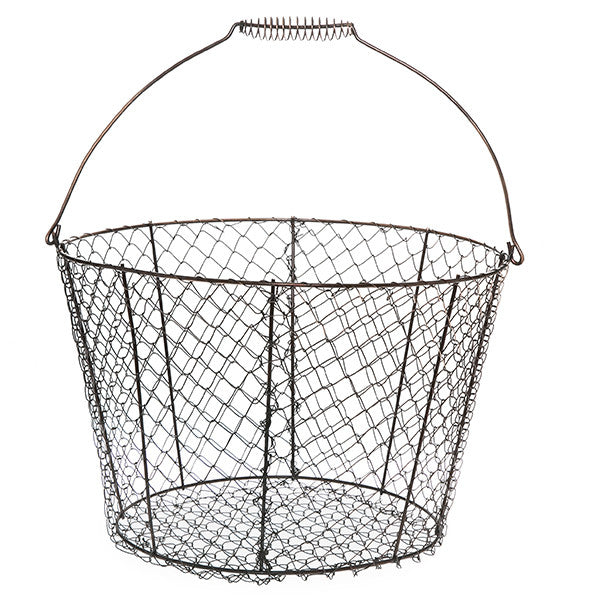 Large Wire Basket for Mudroom, 13""