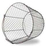 Large Round Chicken Wire Basket