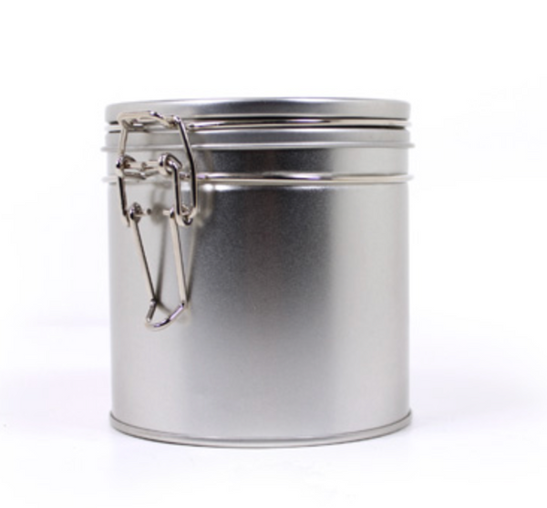 Tea Tin, Latch Lid Tin Canisters | 4 ct.