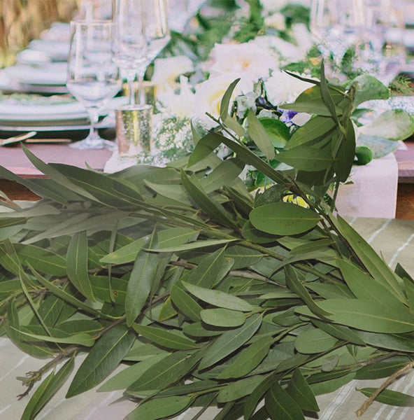 Garland Greenery | Bay Leaf Stems for DIY Garland -  6 Bunches